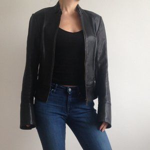 Mackage - Black Leather Jacket